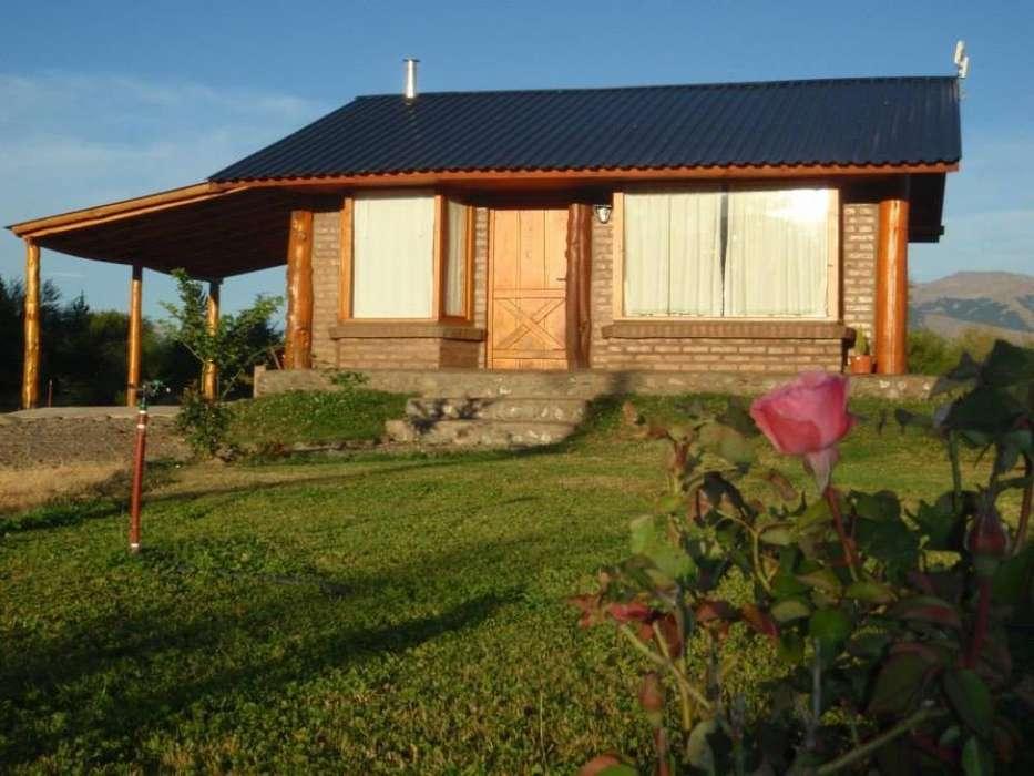 ps02 - Cabaña para 2 a 5 personas con cochera en Trevelin