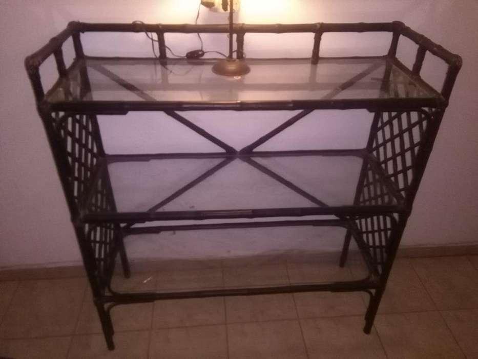 mueble de caña