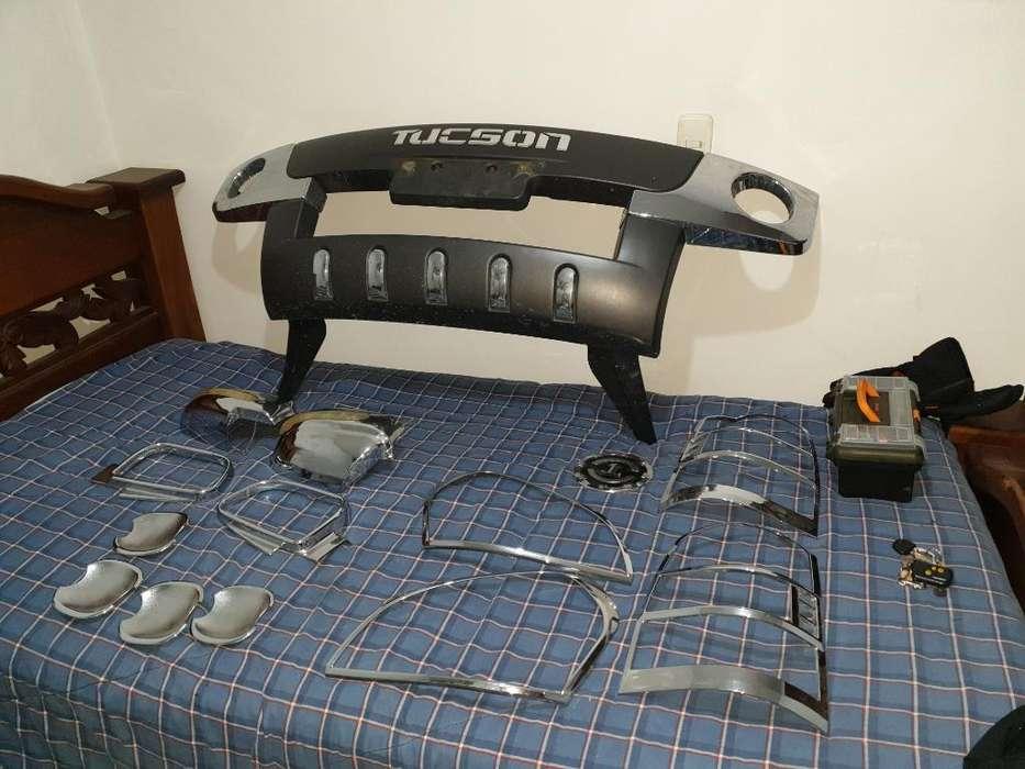 Kit <strong>accesorios</strong> Cromados Hyundai Tucson