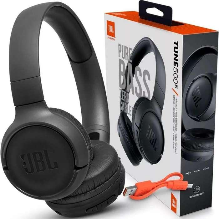 Auriculares Bluetooth JBL T500BT Originales Nuevos 4300
