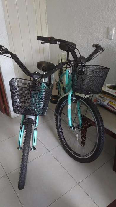 2 Bicicletas Playeras Canasta,parrilla