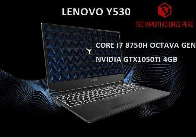 Lenovo Legion Y530 I7 OCTAVA GEN 1TB GTX 1050Ti RAM 2666Mhz Intel Oct Gen Laptop Gamer Ingeniería HP ASUS DEL MSI