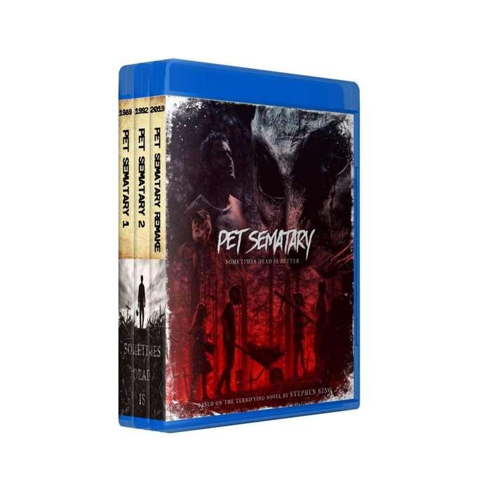 Cementerio De Animales 1 2 Remake En Bluray Latino/ingles