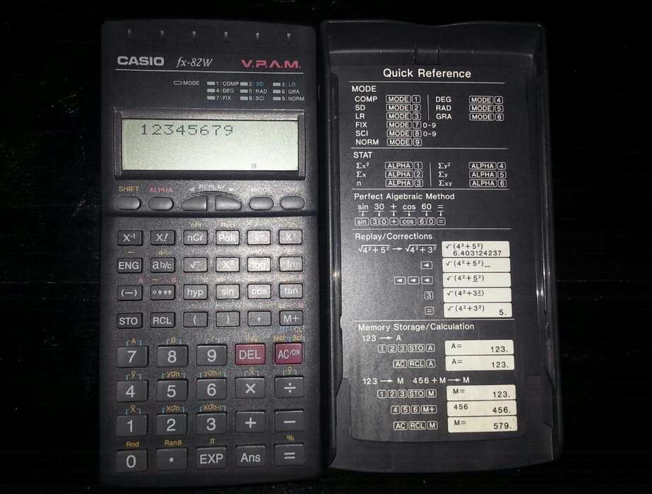 Calculadora Casio - Fx 82w