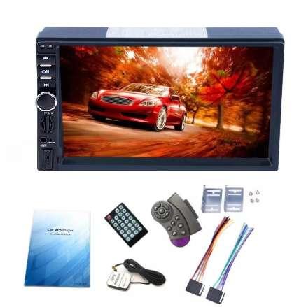 RADIO PARA CARRO PANTALLA TACTIL 7 GPS SATELITAL MIRROR LINK BLUETOOTH