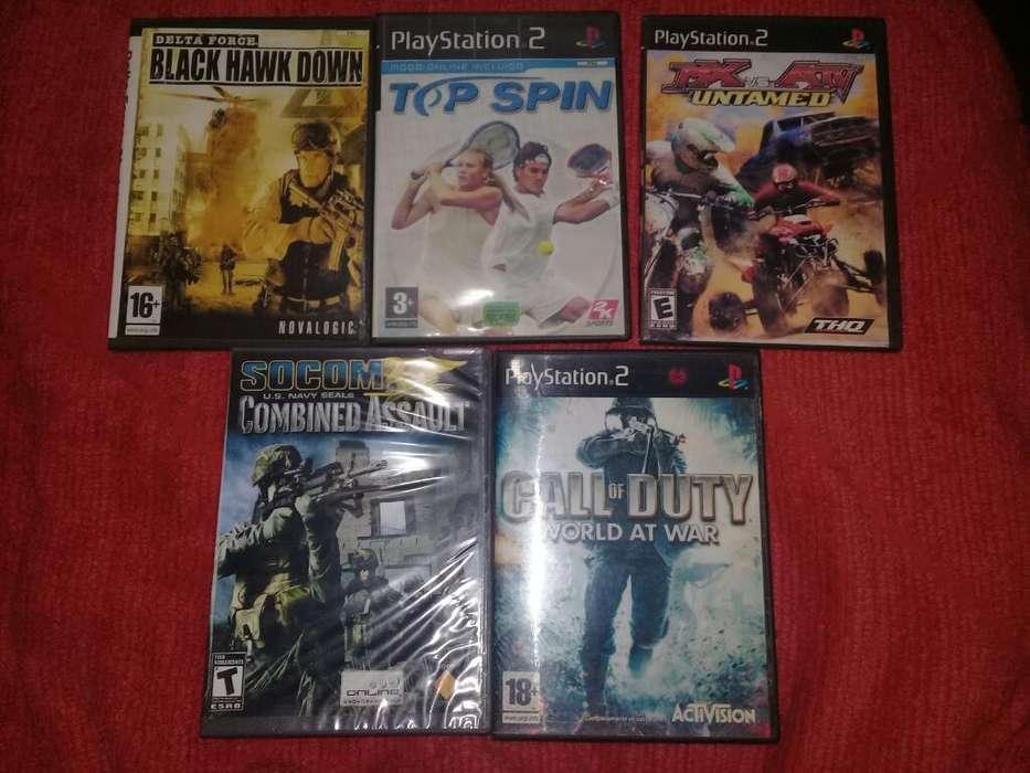 5 Juegos de Playstation 2