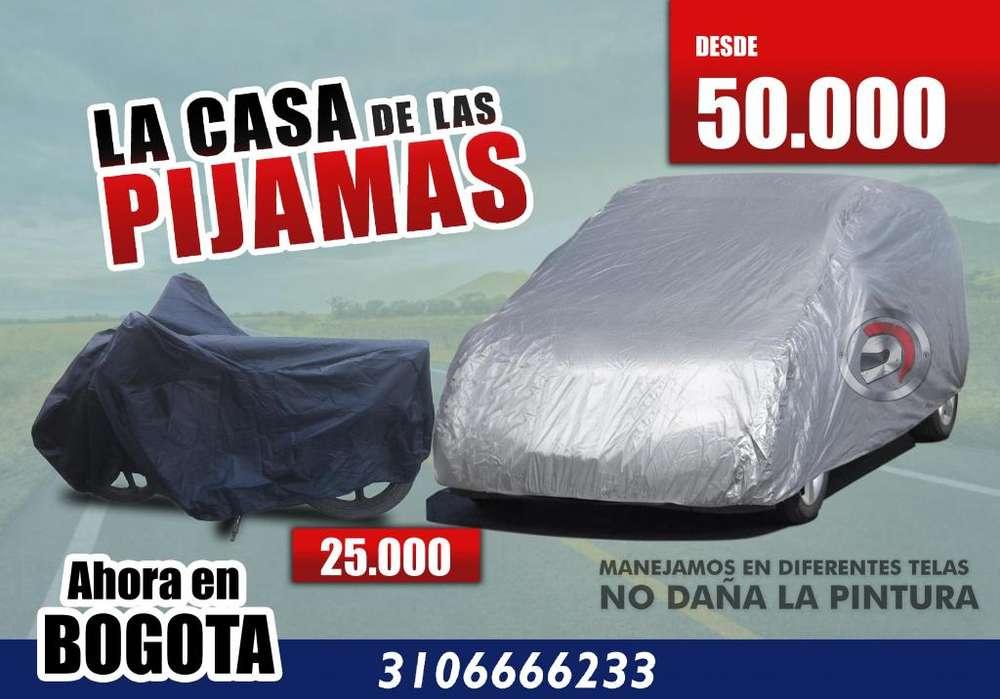 Pijamas para carro y moto en Bogota