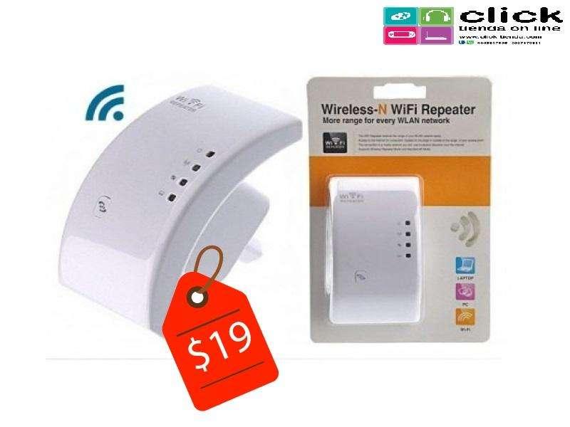 Repetidor WiFi Amplificador de seña/ Repartidor 300mbp