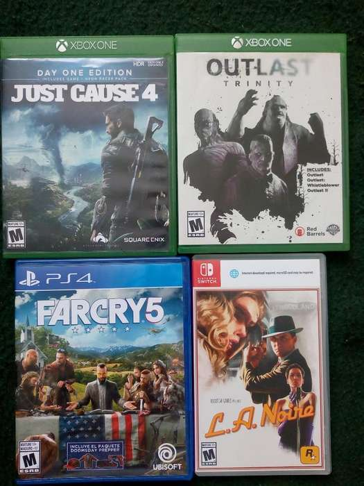 Vendo O Cambio por Juegos Ps4 O Xbox One