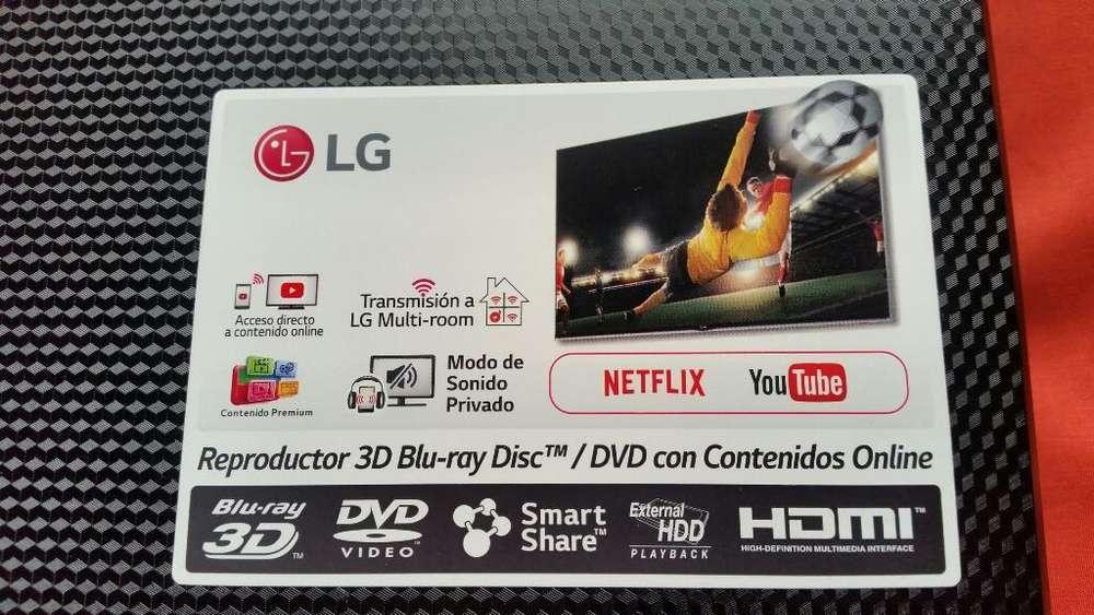 Blu Ray Smart Lg 3D
