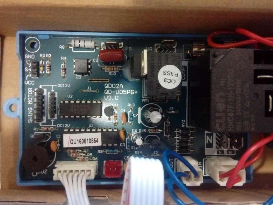 Placa Electrónica acondicionado PG motor cooltech