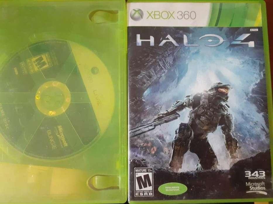 Vendo Halo 3 y 4 Originales