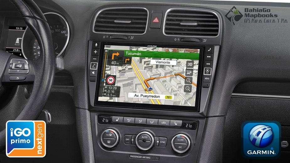 Actualización de GPS en stereos integrados Windows CE y Android