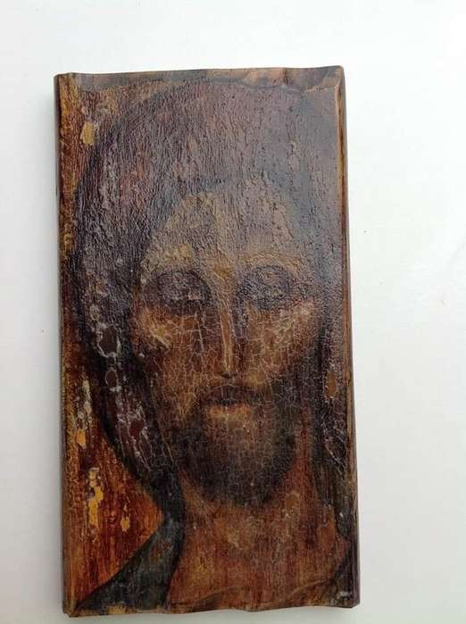 Pintura a La Antigua de Cristo