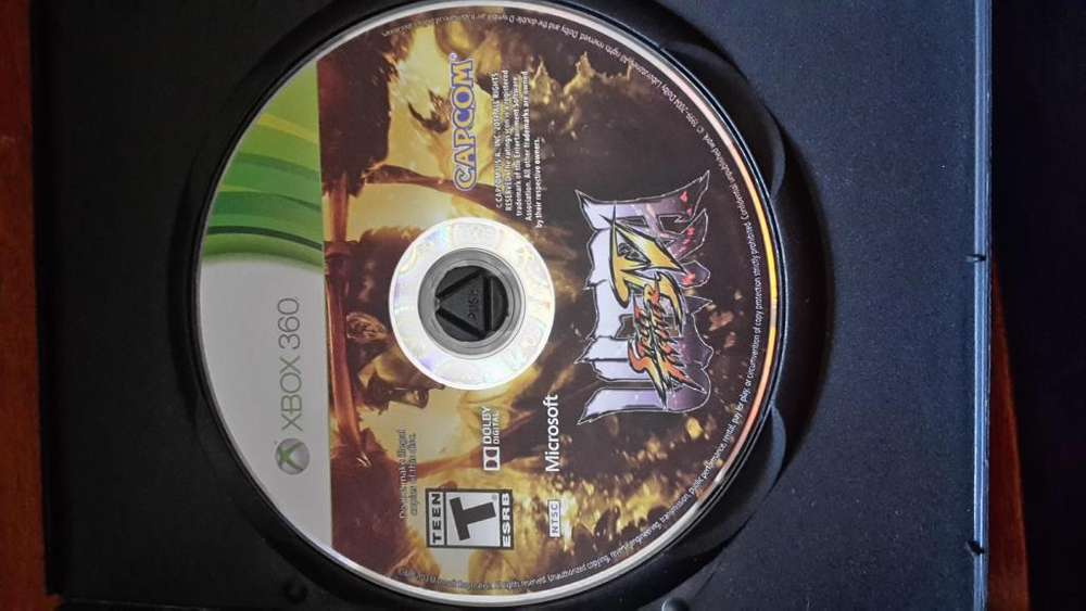 Juego Xbox 360Ultra Street Fighter IV