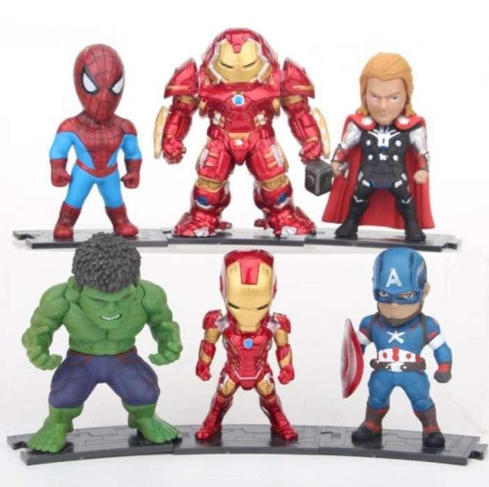 Figuras Avengers Coleccion Set X 6 Unidades