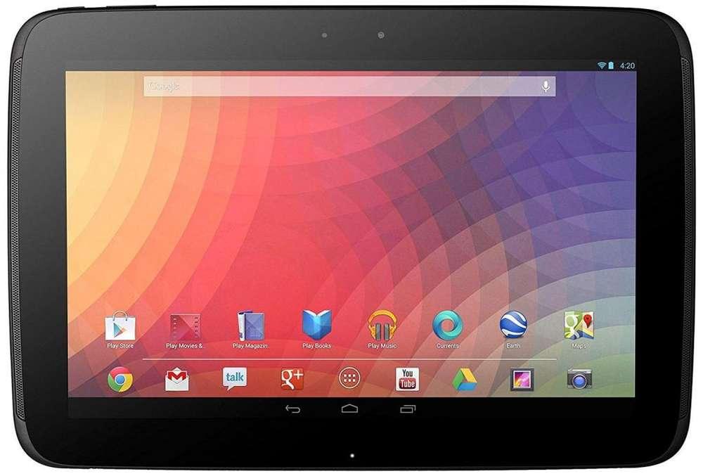 Vendo Tableta Nexus 10 usada 32 GB excelente estado Procesador de doble núcleo A15