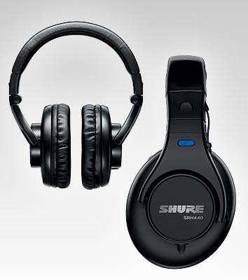 SHURE SRH440 Audífono Para Estudio Vivo Radio Tv