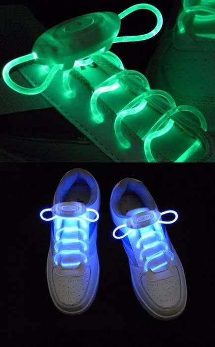 Vendo Cordones Led Luminosos para Cualquier Tipo de Tennis