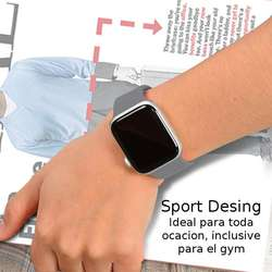 Correas Sport P' Apple Watch Serie 1, 2, 3 38mm 42mm