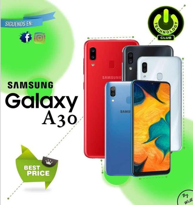 <strong>samsung</strong> A30 Galaxy A30 2019 / Tienda física Centro de Trujillo / Celulares sellados Garantia 12 Meses