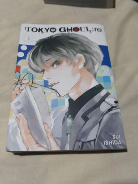 Mangas Tokyo Ghoul :re Volumenes 1 2 Y 3