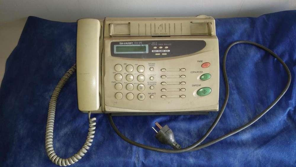 Teléfono <strong>fax</strong> SHARP FO175. Impecable estado