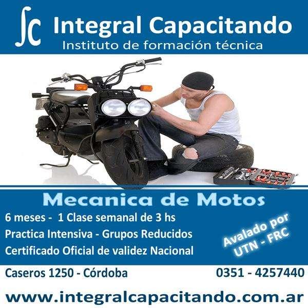 Cursos de Mecanica de Motos Certificacion Ofiicial