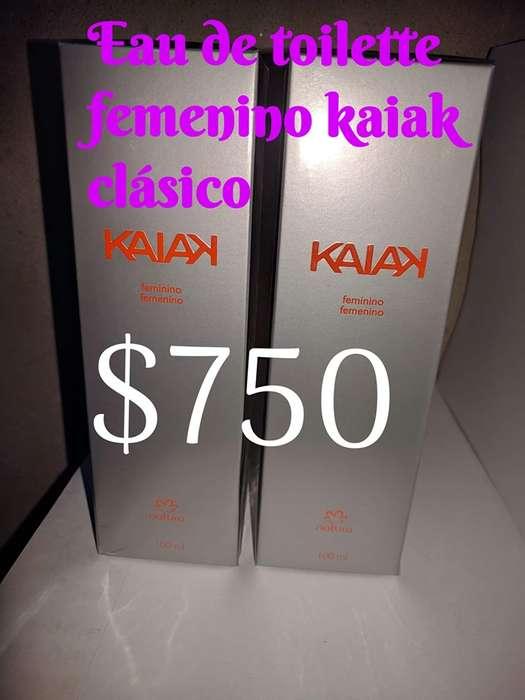 Perfume natura (kaiak clasico) para mujer