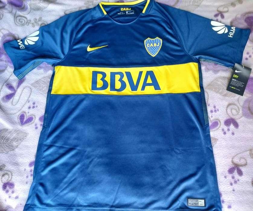 Camiseta Boca Juniors Nike Oficial Stadium 2017/ 2018