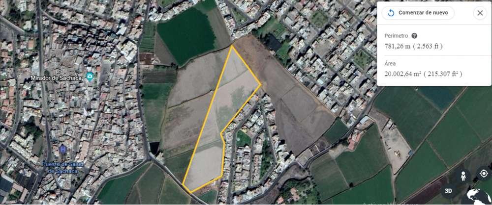 VENDO 20000 M2 DE TERRENO AGRICOLA EN ZONA RESIDENCIAL, EN LA PEÑA SACHACA AREQUIPA