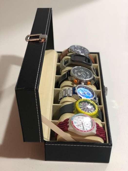 Cajas para Guadar Relojes 6,10,12