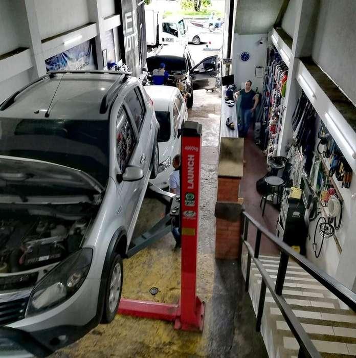 Se vende Taller de mecánica con almacén de repuestos y lubricentro