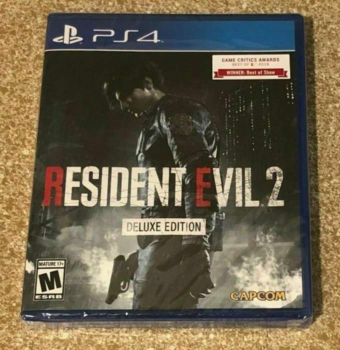Resident Evil 2 Deluxe Playstation 4