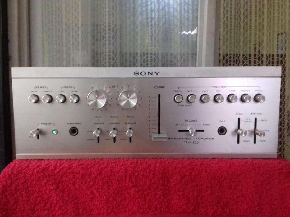 Amplificador clasico Japones Sony.