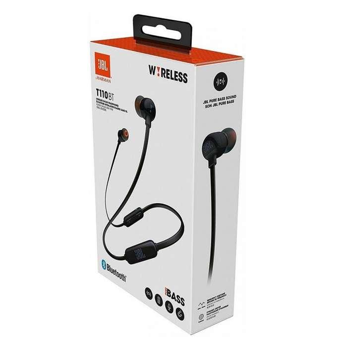 Audífono Jbl T110bt Bluetooth 4.0 Pure Bass ORIGINAL SELLADO SOMOS NABYS SHOP PERÚ
