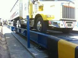 Basculas para camiones fijas y portátiles