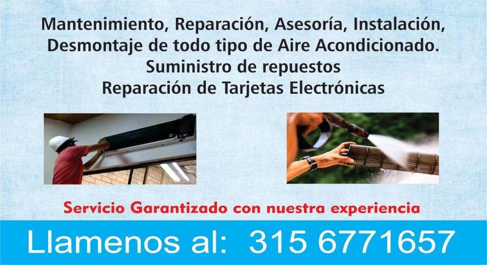 Mantenimiento y reparación de aires acondicionados 3156771657