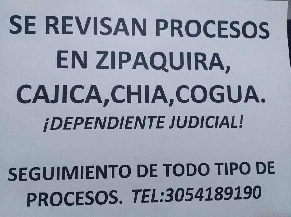 DEPENDIENTE JUDICIAL ZIPAQUIRA ,CAJICA ,CHIA Y COGUA.