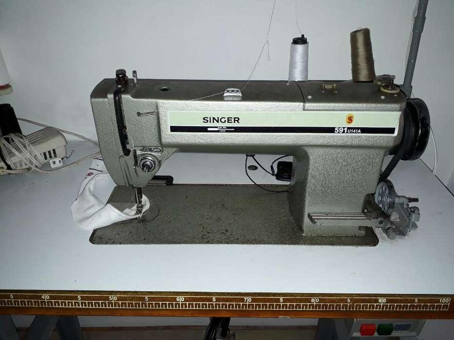 Maquina Plana Singer591