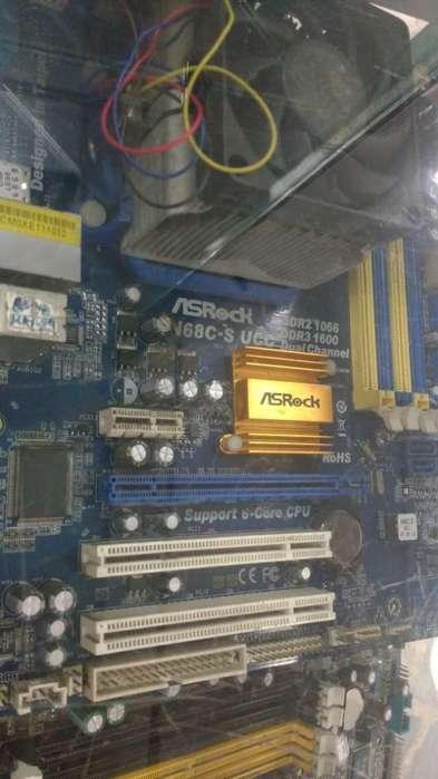 Board Y Procesador Asrock N68