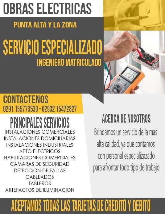 ELECTRICISTA INSTALADOR HABILITACION DE COMERCIOS INGENIERO MATRICULADO