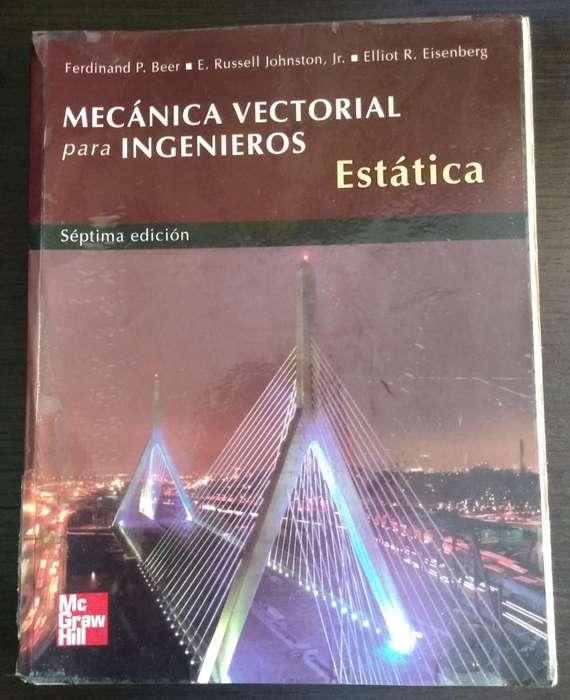 Libro de Mecánica Vectorial Estática