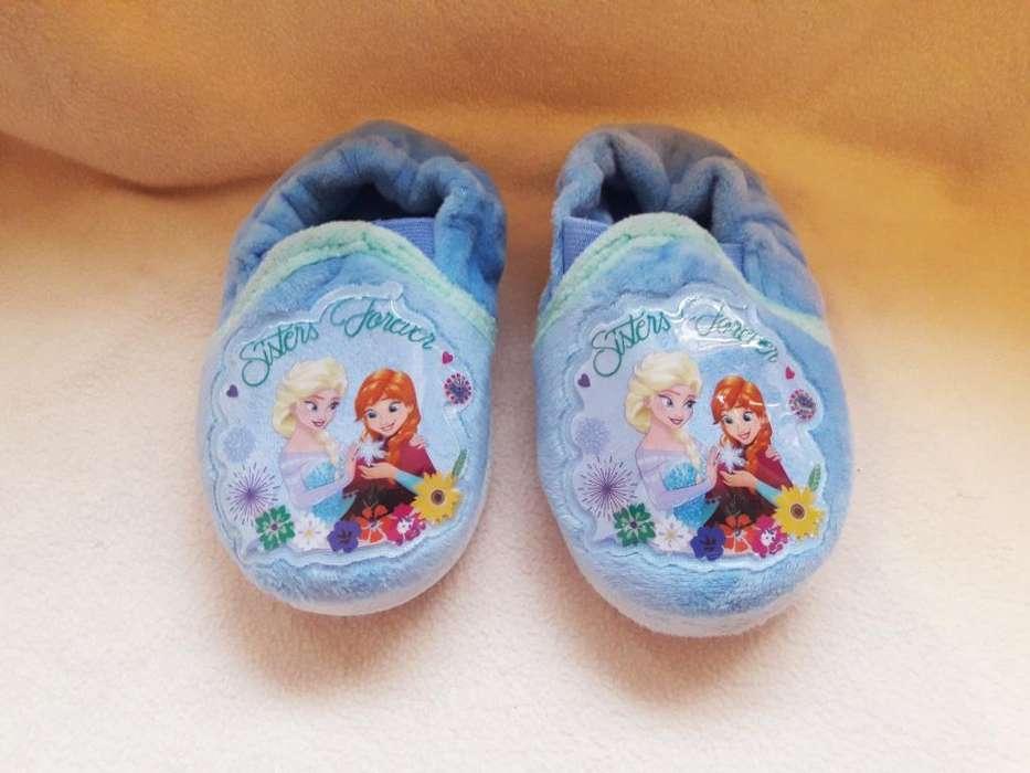 Pantuflas Frozen Talla 22 Liquidación