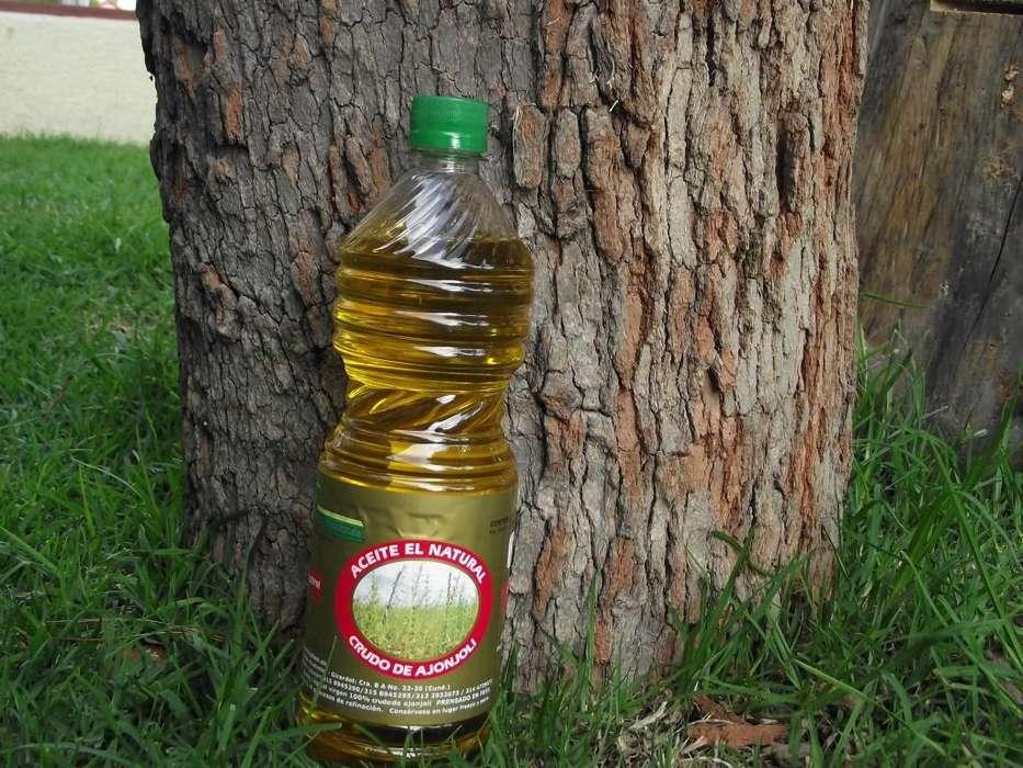 Aceite De Ajonjolí Alta Calidad Virgen Colombiano 1 Litro