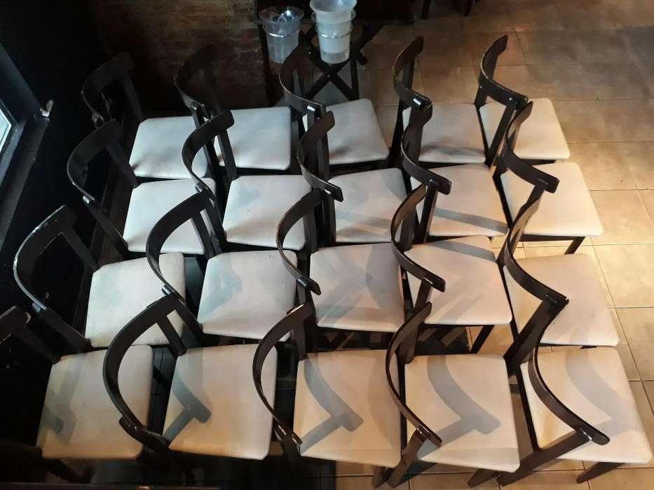 20 <strong>silla</strong>s de Madera con Tapizado