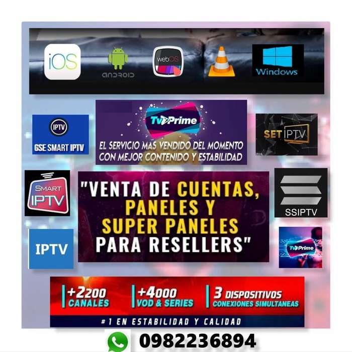 Streaming Iptv - Canales