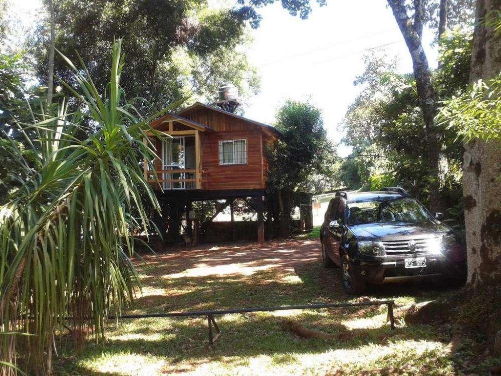 mp92 - Cabaña para 1 a 5 personas con pileta y cochera en Obera
