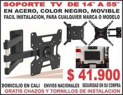 Soporte Tv 14 Hasta 55 , acero Facil Intalacion BASE PARA TELEVISION herramienta