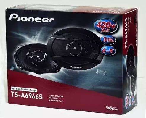 <strong>parlantes</strong> Pioneer Ts A6974s 6x9 Audio para Autos. NUEVO